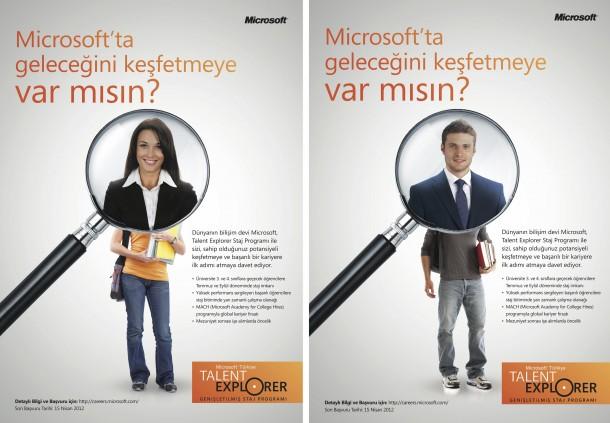 Microsoft Talent Explorer