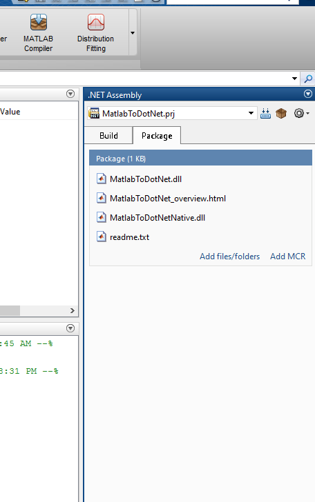 How to Use Matlab Code in WEB API(or generally  NET