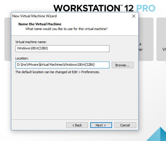 How to Install Windows 10 32 Bit with VMware Workstation 12 – Mehmet